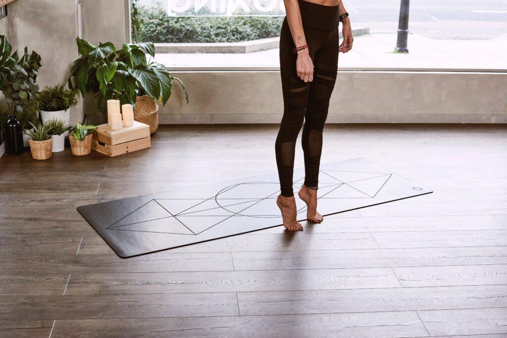 danse thérapie tapis de gym danseuse
